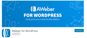 AWeber for WordPress