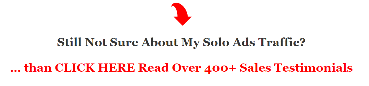 read our solo ads testimonials